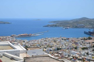 view fimaira apartments syros view