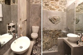 stone fimaira apartments shower